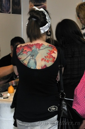3d MOSCOW TATTOO CONVENTION 2009 9