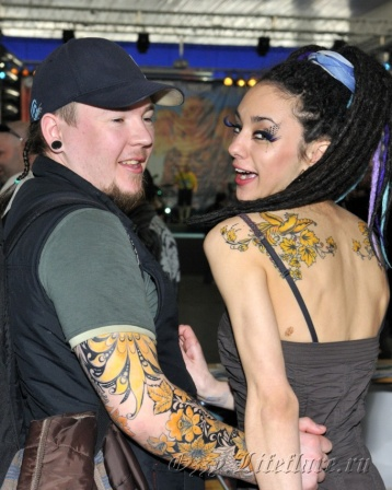 3d MOSCOW TATTOO CONVENTION 2009 1