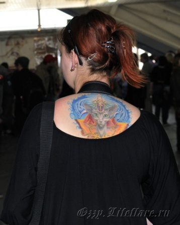 3d MOSCOW TATTOO CONVENTION 2009 2