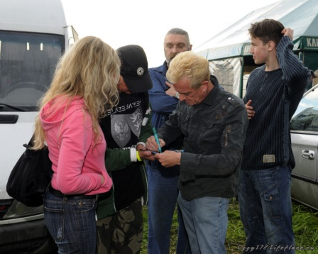Graham Bonnet на Байк-Фесте 2008 в Малоярославце 1